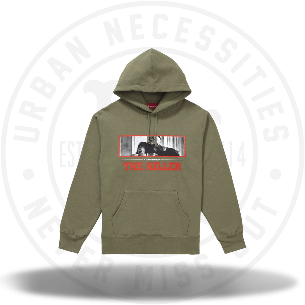 Supreme The Killer Hooded Sweatshirt Light Olive-Urban Necessities