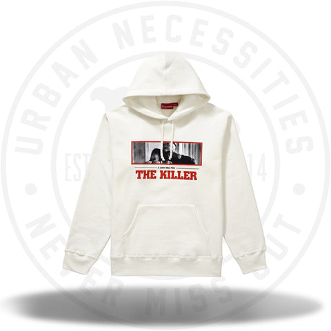 Supreme The Killer Hooded Sweatshirt White-Urban Necessities