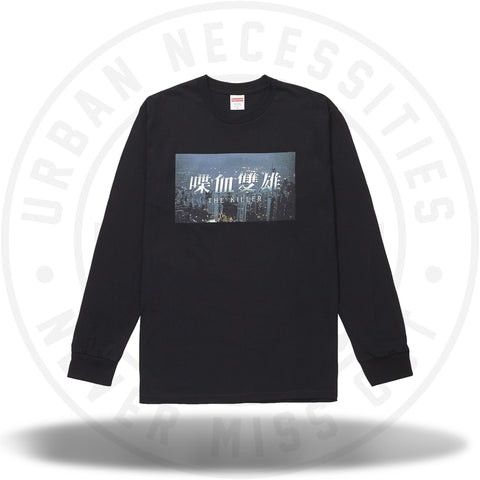Supreme The Killer L/S Tee Black-Urban Necessities