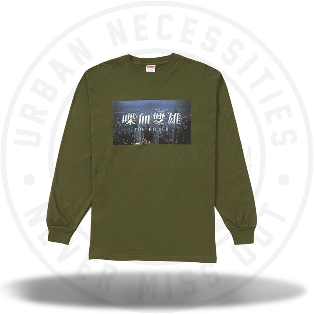 Supreme The Killer L/S Tee Olive-Urban Necessities
