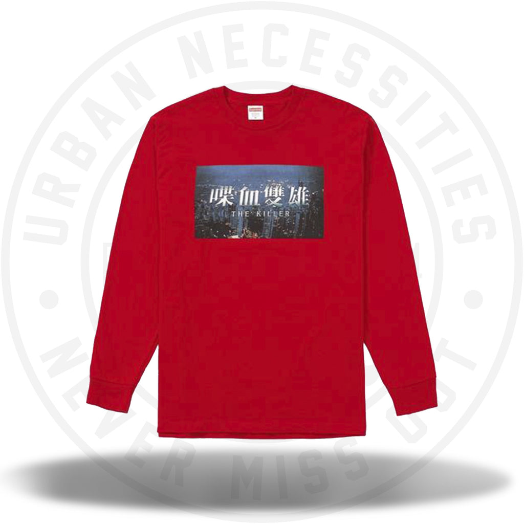 Supreme The Killer L/S Tee Red-Urban Necessities