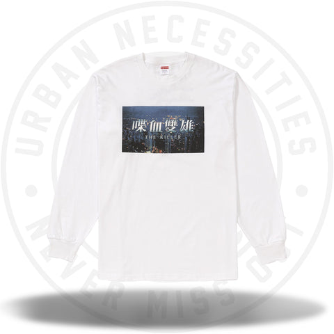 Supreme The Killer L/S Tee White-Urban Necessities