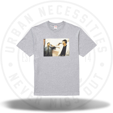 Supreme The Killer Trust Tee Heather Grey-Urban Necessities