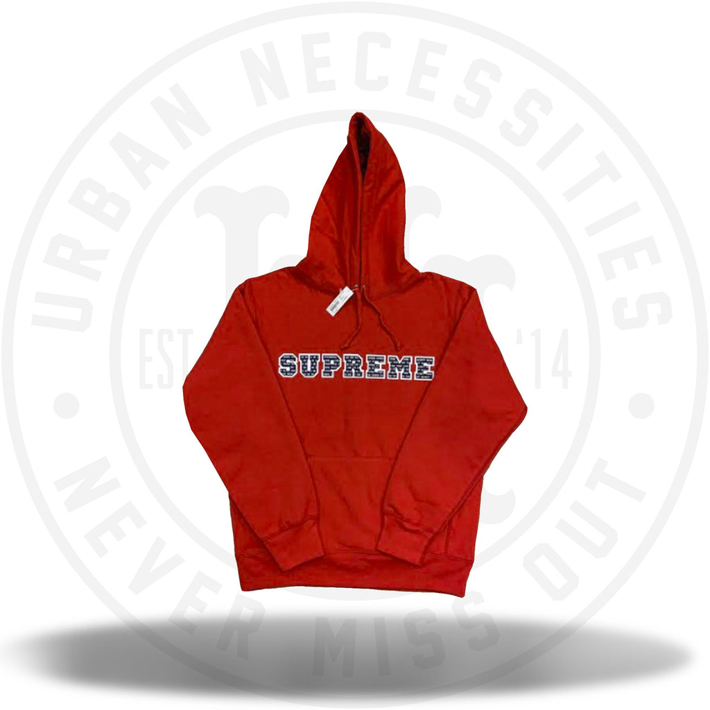 Supreme The Most Hooded Sweatshirt Red-Urban Necessities