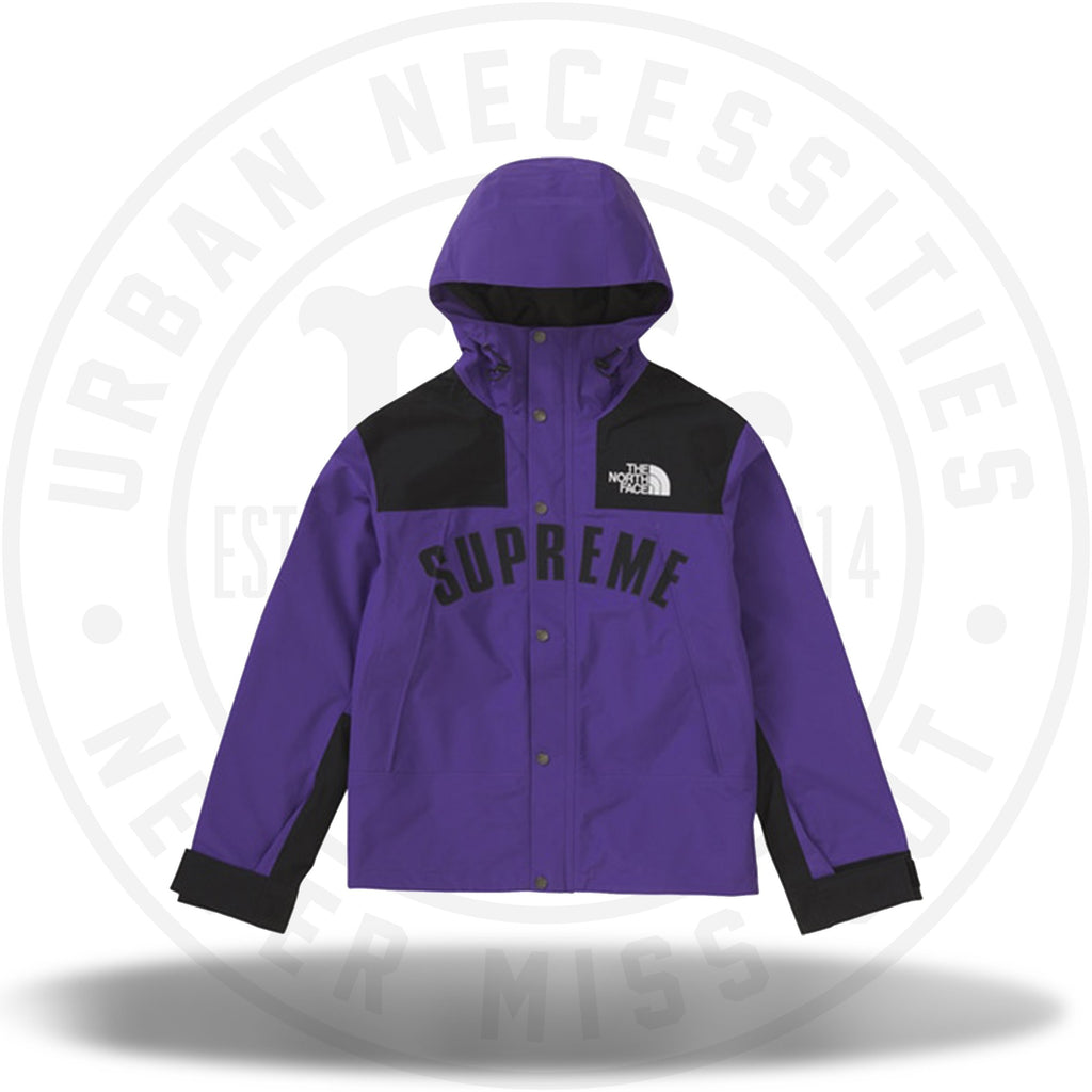 Supreme The North Face Arc Logo Mountain Parka - Purple-Urban Necessities