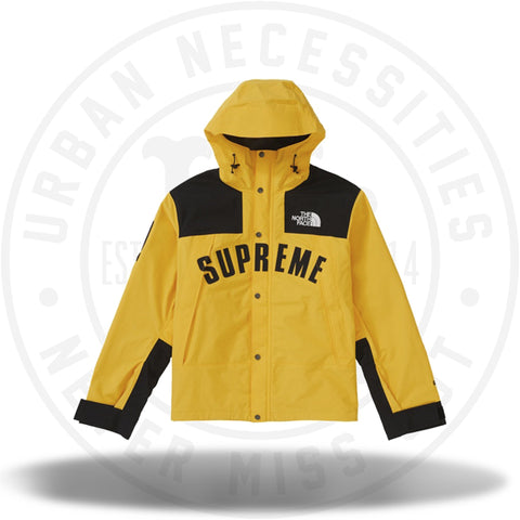 Supreme The North Face Arc Logo Mountain Parka - Yellow-Urban Necessities