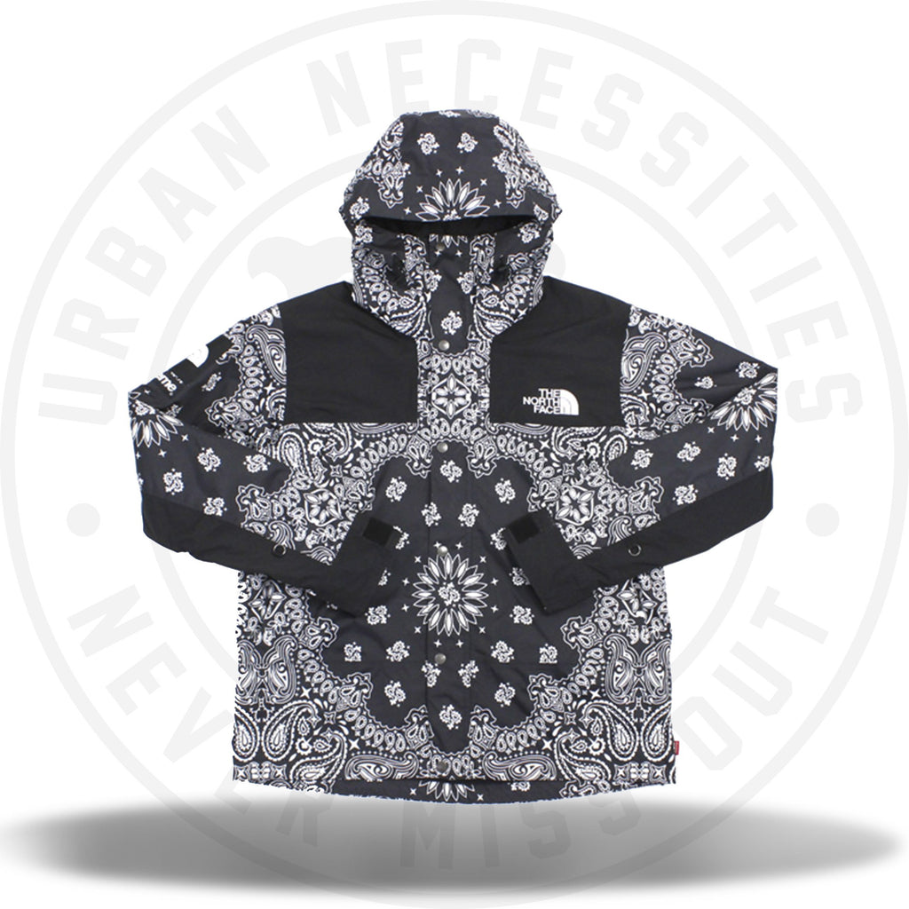 Supreme The North Face Bandana Mountain Jacket Black-Urban Necessities