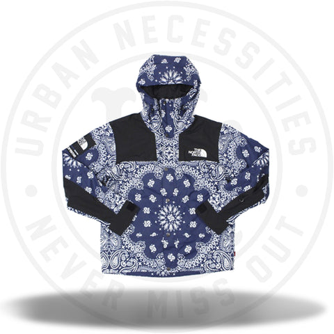 Supreme The North Face Bandana Mountain Jacket Navy-Urban Necessities