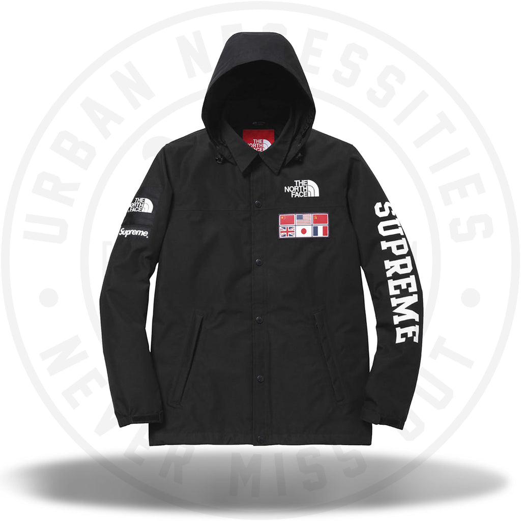 Supreme The North Face Expedition Coaches Jacket Black-Urban Necessities