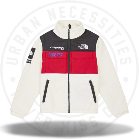 Supreme The North Face Expedition Fleece (FW18) Jacket White-Urban Necessities