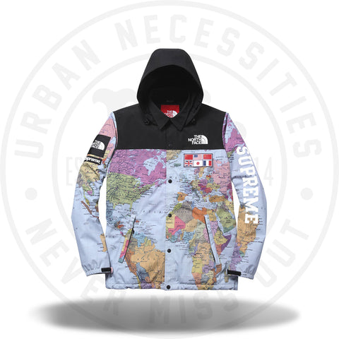 Supreme The North Face Expedition World Map SS14-Urban Necessities