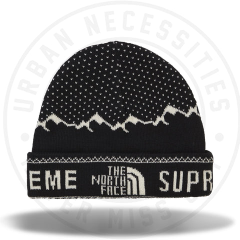 Supreme The North Face Fold Beanie Black-Urban Necessities