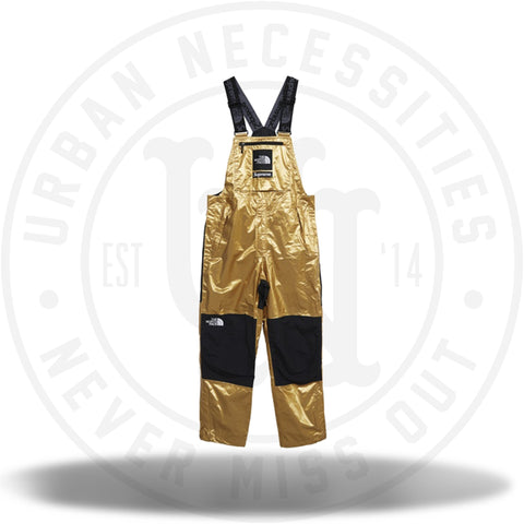 Supreme The North Face Metallic Mountain Bib Pants Gold-Urban Necessities