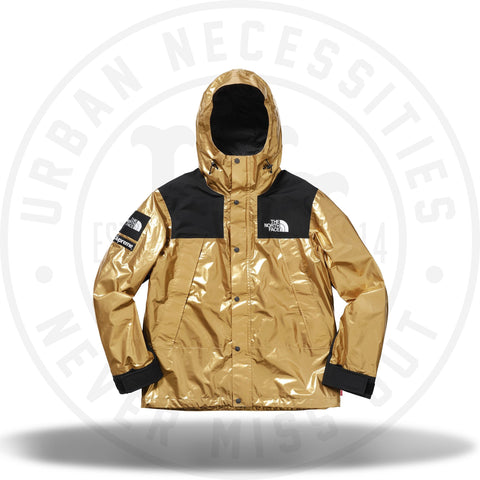 Supreme The North Face Metallic Mountain Parka Gold-Urban Necessities