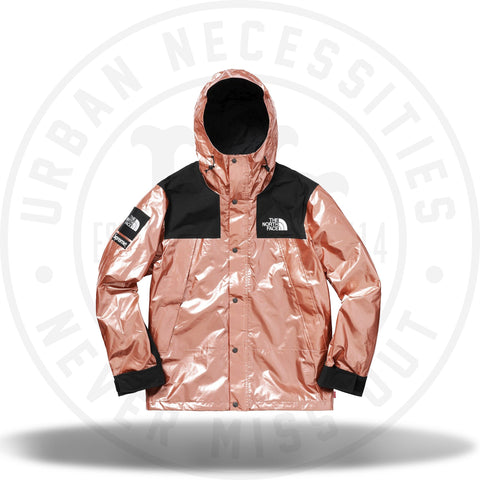 Supreme The North Face Metallic Mountain Parka Rose Gold-Urban Necessities