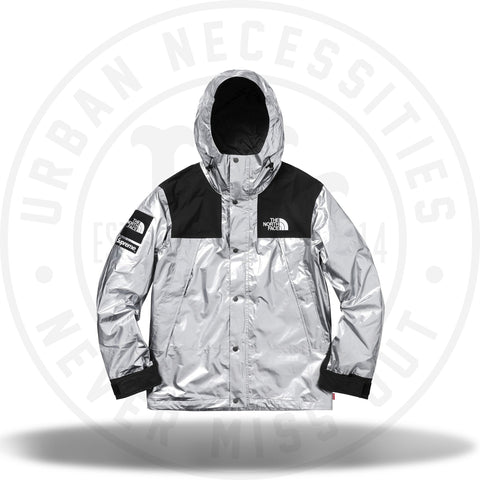 Supreme The North Face Metallic Mountain Parka Silver-Urban Necessities