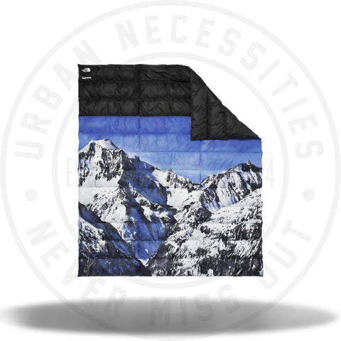 Supreme The North Face Mountain Nupste Blanket Blue/White-Urban Necessities