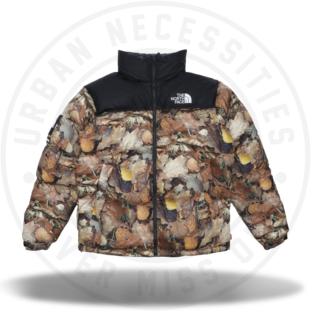 Supreme The North Face Nuptse Leaves-Urban Necessities