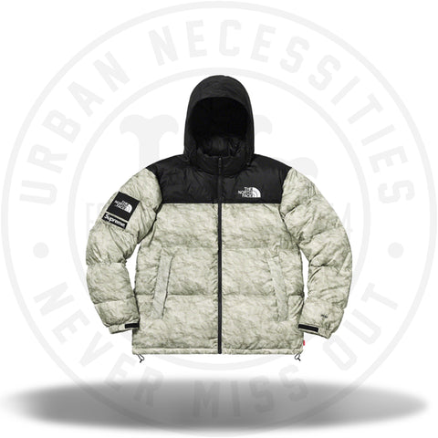Supreme The North Face Paper Print Nuptse Jacket Paper Print-Urban Necessities