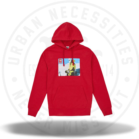 Supreme The North Face Photo Hooded Sweatshirt Red-Urban Necessities