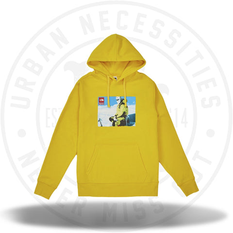 Supreme The North Face Photo Hooded Sweatshirt Yellow-Urban Necessities