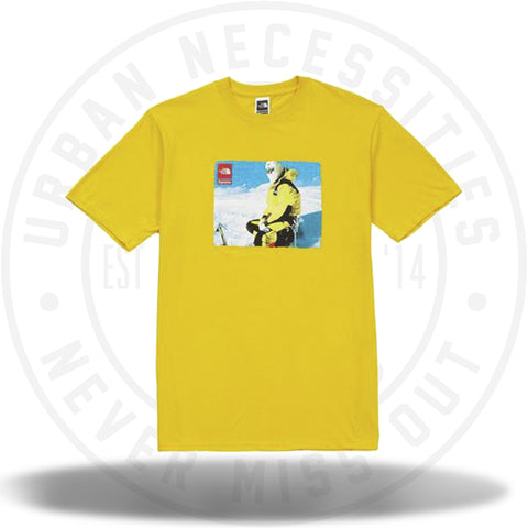 Supreme The North Face Photo Tee Yellow-Urban Necessities