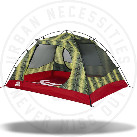 Supreme The North Face Snakeskin Taped Seam Stormbreak 3 Tent Green-Urban Necessities