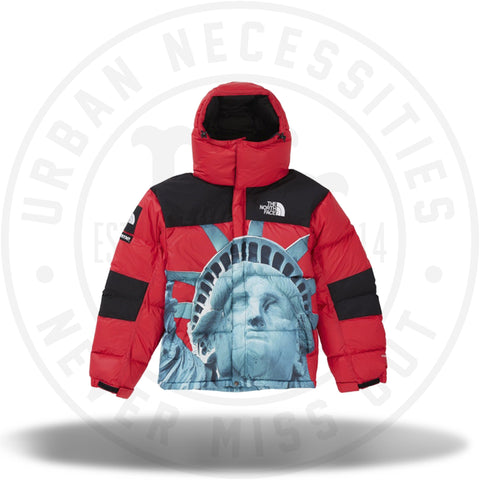 Supreme The North Face Statue of Liberty Baltoro Jacket Red-Urban Necessities