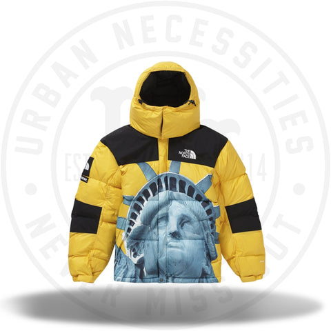 Supreme The North Face Statue of Liberty Baltoro Jacket Yellow-Urban Necessities
