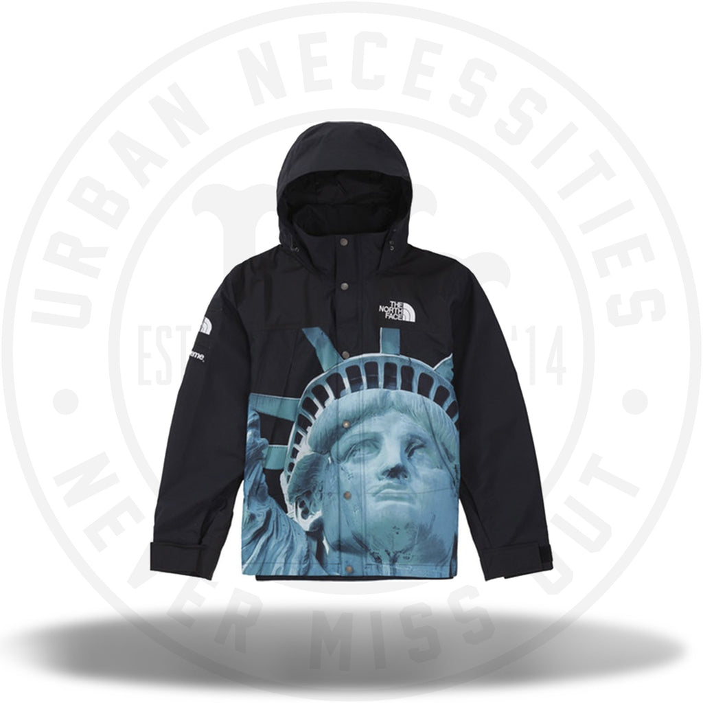 Supreme The North Face Statue of Liberty Mountain Jacket Black-Urban Necessities
