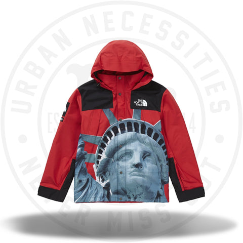 Supreme The North Face Statue of Liberty Mountain Jacket Red-Urban Necessities