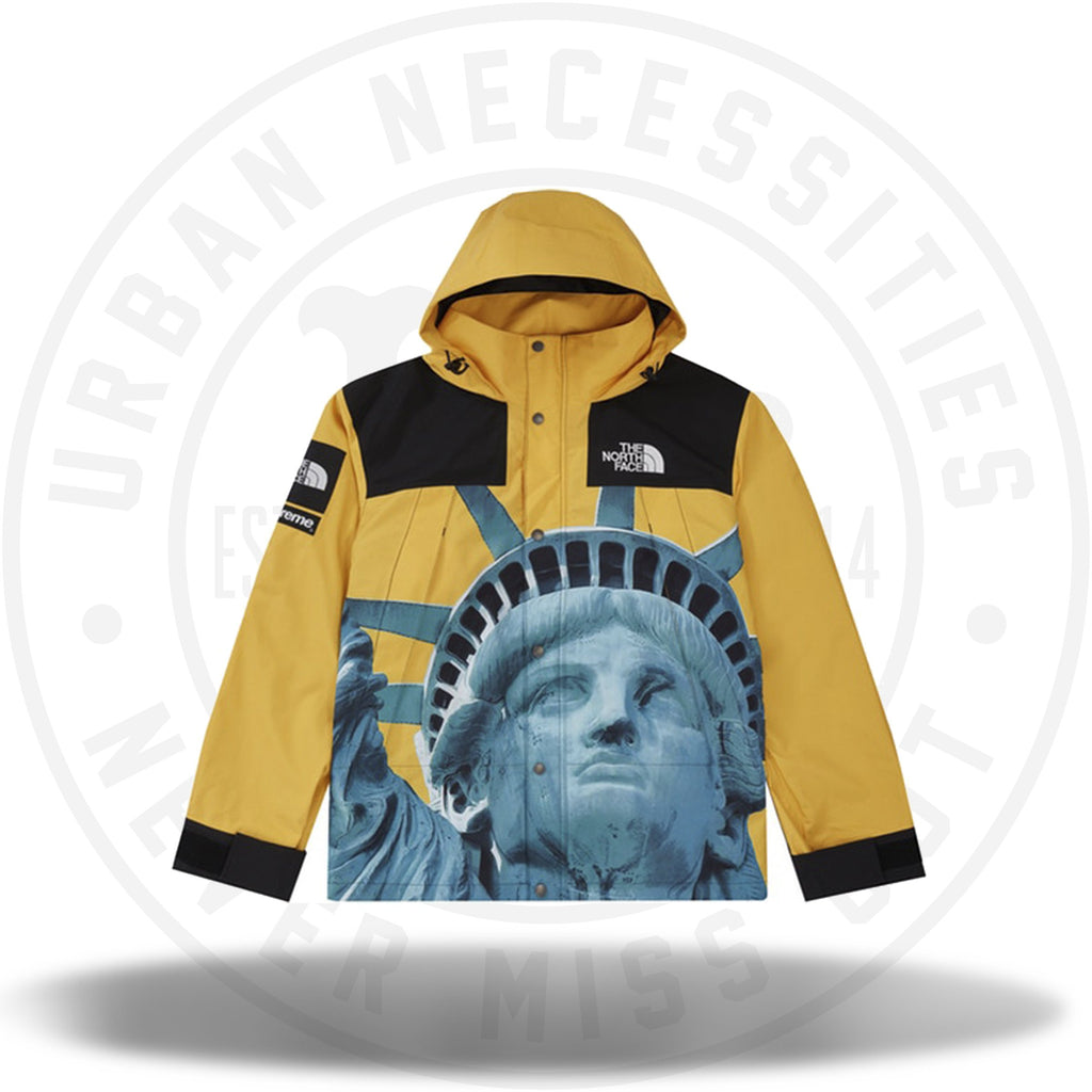 Supreme The North Face Statue of Liberty Mountain Jacket Yellow-Urban Necessities