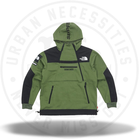 Supreme The North Face Steep Tech Sweatshirt Olive-Urban Necessities