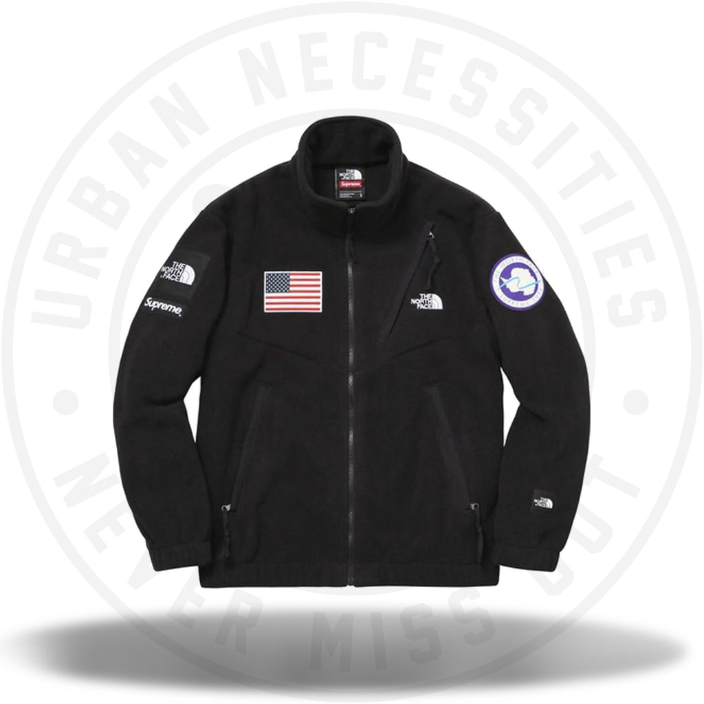 Supreme The North Face Trans Antarctica Expedition Fleece Jacket Black-Urban Necessities