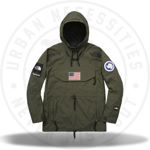 Supreme The North Face Trans Antarctica Expedition Pullover Jacket Olive-Urban Necessities