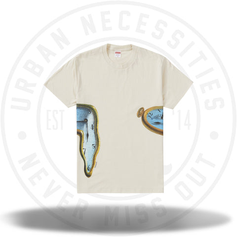 Supreme The Persistence Of Memory Tee Natural-Urban Necessities