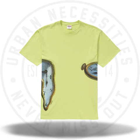 Supreme The Persistence Of Memory Tee Neon Green-Urban Necessities