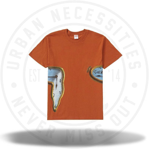 Supreme The Persistence Of Memory Tee Rust-Urban Necessities