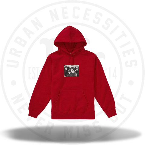 Supreme The Velvet Underground Hooded Sweatshirt Red-Urban Necessities