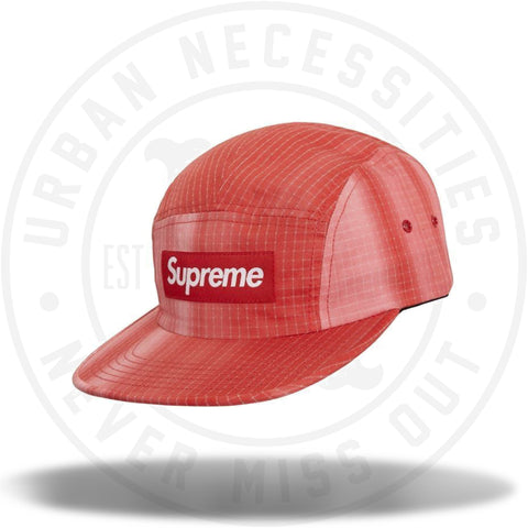 Supreme Tie Dye Ripstop Camp Cap Red-Urban Necessities