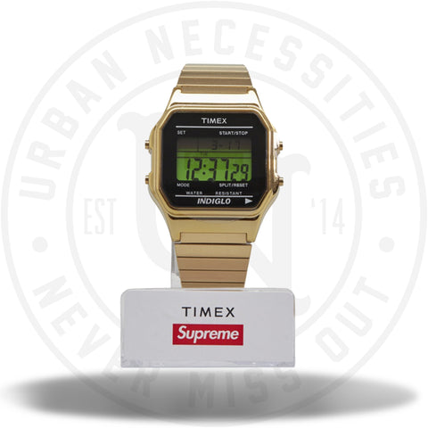 Supreme Timex Digital Watch Gold-Urban Necessities