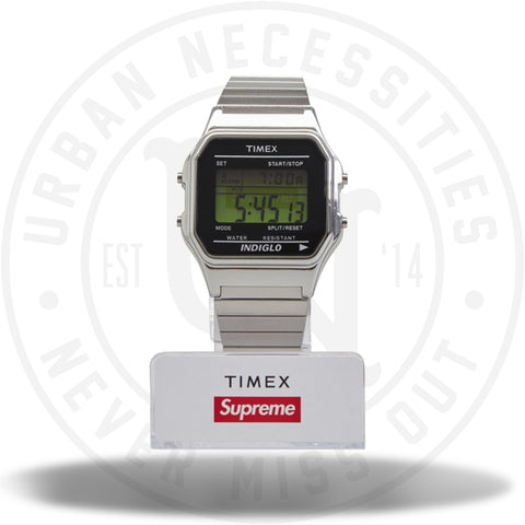 Supreme Timex Digital Watch Silver-Urban Necessities