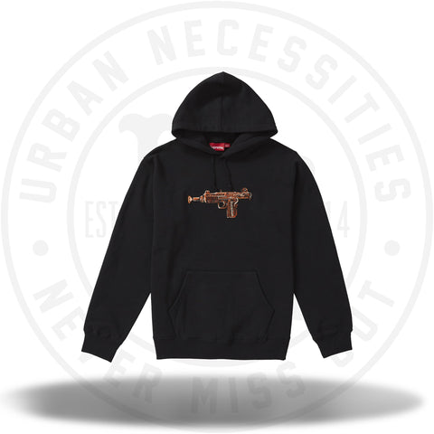 Supreme Toy Uzi Hooded Sweatshirt Black-Urban Necessities