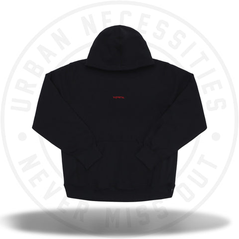 Supreme Trademark Hooded Sweatshirt Black-Urban Necessities