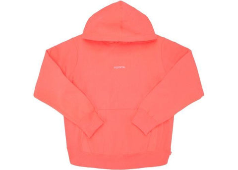 Supreme Trademark Hooded Sweatshirt Fluorescent Pink-Urban Necessities