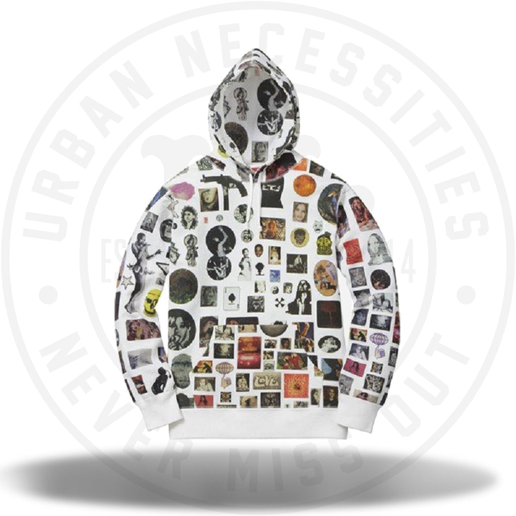 Supreme Trills Hooded Sweatshirt White-Urban Necessities