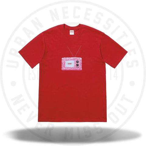 Supreme TV Tee Red-Urban Necessities