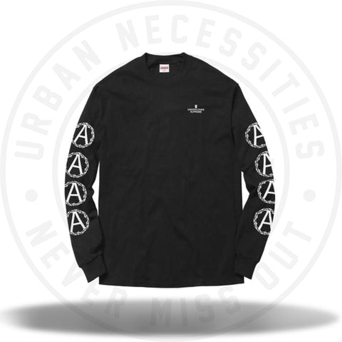 Supreme Undercover Anarchy LS Tee Black-Urban Necessities