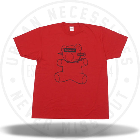 Supreme Undercover Bear Tee Red Red SS15-Urban Necessities