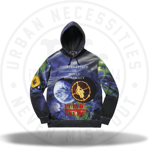 Supreme UNDERCOVER/Public Enemy Hooded Sweatshirt Multi-Urban Necessities